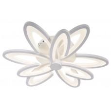 Потолочная светодиодная люстра с пультом Omnilux OML-49307-87 Florinas белый 87 Вт