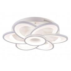 Потолочная светодиодная люстра с пультом Omnilux OML-49407-123 Ittiri белый 123 Вт