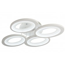 Потолочная светодиодная люстра с пультом Omnilux OML-49507-64 Montresta белый 64 Вт