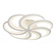 Потолочная светодиодная люстра с пультом Omnilux OML-49607-84 Padria белый 84 Вт