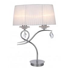 Настольная лампа Omnilux OML-61904-02 Rieti хром