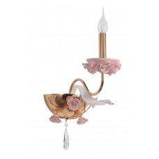 Бра Omnilux OML-70411-01 Muntiggioni розовый+золото