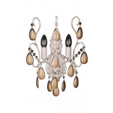 Хрустальное бра Omnilux OML-74501-02 Agrigento белое золото