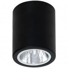 Потолочный светильник Luminex DOWNLIGHT ROUND 7237 чёрный