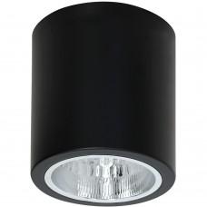 Потолочный светильник Luminex DOWNLIGHT ROUND 7239 чёрный