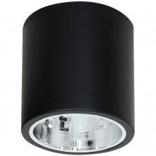 Потолочный светильник Luminex DOWNLIGHT ROUND 7241 чёрный