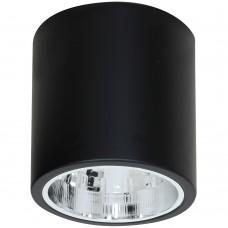 Потолочный светильник Luminex DOWNLIGHT ROUND 7243 чёрный