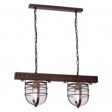 Светильник лофт Luminex ANDER 7619 коричневый