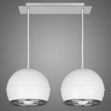 Подвесной светильник Kemar NAPO NP/2/W белый, хром