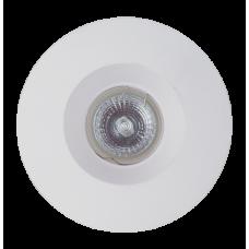Светильник гипсовый встраиваемый Светкомплект AZL 02 WH Ø130мм белый