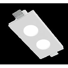 Врезной гипсовый светильник Roden RD-213 100*200 мм MR16