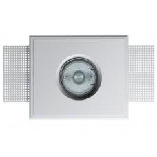 Гипсовый светильник встраиваемый (врезной) Декоратор VS-014 белый