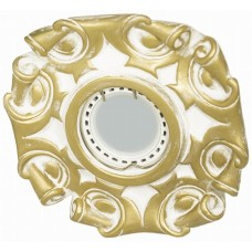 Гипсовый светильник Roden Light RD-008 WH/G белый с золотом