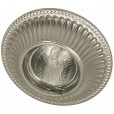 Гипсовый светильник Roden Light RD-015 S серебро