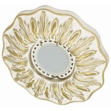 Гипсовый светильник Roden Light RD-026 WH/G белый с золотом