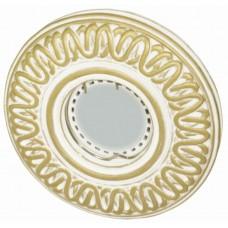 Светильник гипсовый Roden Light RD-030 WH/G белый с золотом
