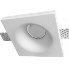 Гипсовый светильник врезной Roden Light RD-200 WH белый