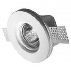 Гипсовый светильник врезной Roden Light RD-201 WH белый