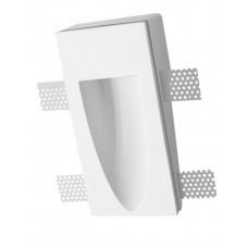 Светильник для подсветки гипсовый стеновой Roden Light RD-208 WH белый