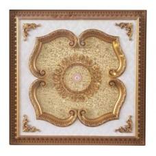 Панно 1010-076 ABR квадратное бронза антик
