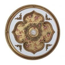 Панно 11R-096 ABR круглое бронза антик