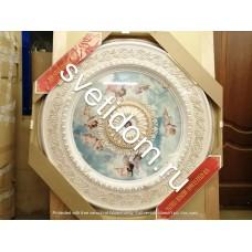 Панно декоративное потолочное 15RDL-024 AWT круглое белый антик