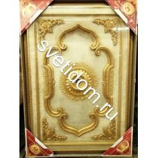 Панно декоративное 1824D-052 AWT прямоугольное белый антик