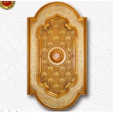 Панно 1324C-097 ABR0 овальное бронза антик (ручная покраска)