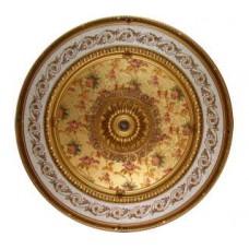Панно 15RDL-096 ABR круглое бронза антик
