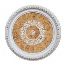 Панно 80RD-001 AWT PS круглое белый антик
