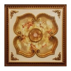Панно 1010-023 ABR квадратное бронза антик
