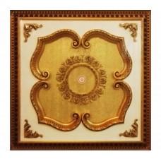 Панно 1010-088 ABR квадратное бронза антик