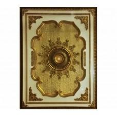 Панно 1824D-088 ABR прямоугольное бронза антик