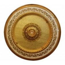 Панно 15RDL-088 ABR круглое бронза антик