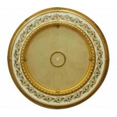 Панно 15RDL-101H ABR круглое бронза антик/дерево светлое