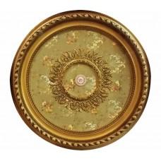 Панно 80RD-097 ABR PS круглое бронза антик