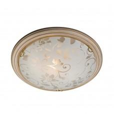 Светильник потолочный Сонекс Provence Crema 256 матовый белый с рисунком