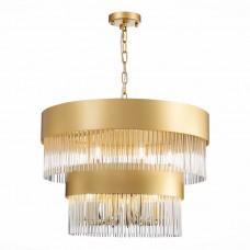 SL1225.203.09 Люстра подвесная ST-Luce Золото/Золото, Прозрачный E14 9*40W