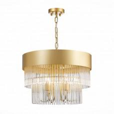 SL1225.203.06 Люстра подвесная ST-Luce Золото/Золото, Прозрачный E14 6*40W