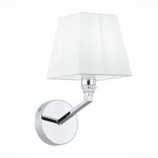 SLE107601-01 Светильник настенный Хром/Белый E14 1*40W