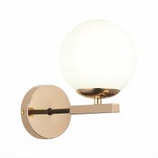 SLE106801-01 Бра Французское золото/Белый E14 1*40W