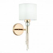 SLE105151-01 Светильник настенный Золото/Белый E27 1*60W