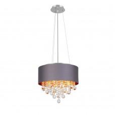 SL1350.703.04 Светильник подвесной ST-Luce Хром/Серый, Золотистый, Прозрачный E14 4*40W