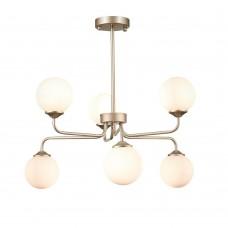 SLE106203-06 Светильник подвесной ST-Luce Золото/Белый G9 LED 6*3W