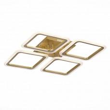 SLE200422-04 Светильник потолочный Золото/Белый LED 1*112W 3000-6000K