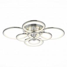 SLE200312-08 Светильник потолочный Хром/Белый LED 1*256W 3000-6000K