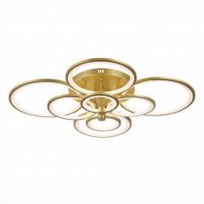SLE200322-08 Светильник потолочный Золото/Белый LED 1*256W 3000-6000K