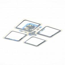 SLE200412-04RGB Светильник потолочный Хром/Белый LED 1*112W RGB 8W 3000-6000K