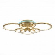 SLE200322-06RGB Светильник потолочный Золото/Белый LED 1*168W RGB 8W 3000-6000K