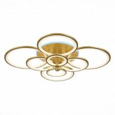 SLE200322-08RGB Светильник потолочный Золото/Белый LED 1*256W RGB 15W 3000-6000K